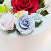 Sugar Flowers - Medium Rose with calyx leaves