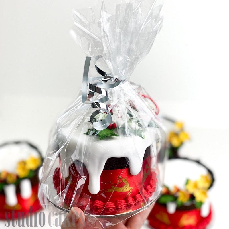 Artisan Mini Christmas Cakes
