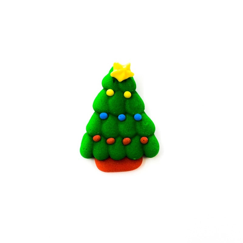 Sugar Topper - Christmas Tree