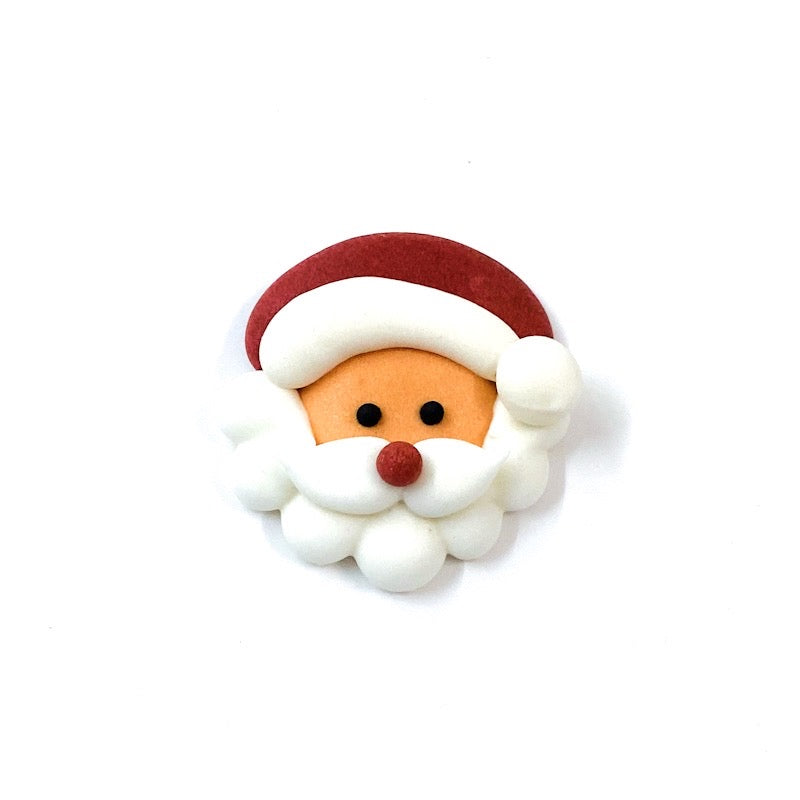 Christmas Decoration Toppers - Santa Face