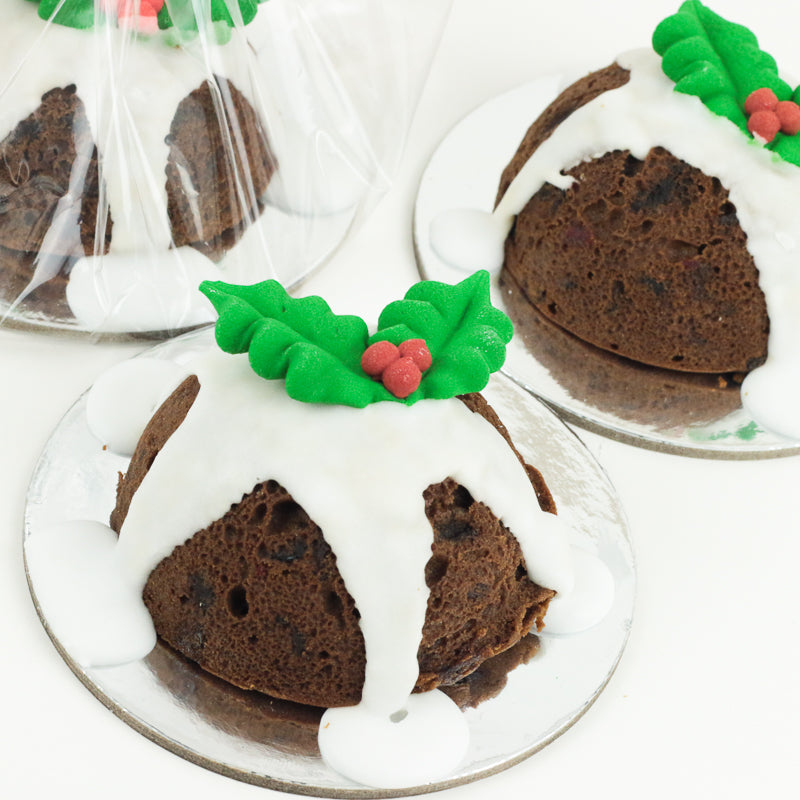 Christmas Cake For One - Single Serve Traditional Cakes