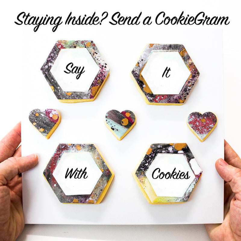 CookieGram - Custom Cookie Messages Box (Includes Delivery)