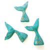 Fondant Decorations - Mermaid Tail