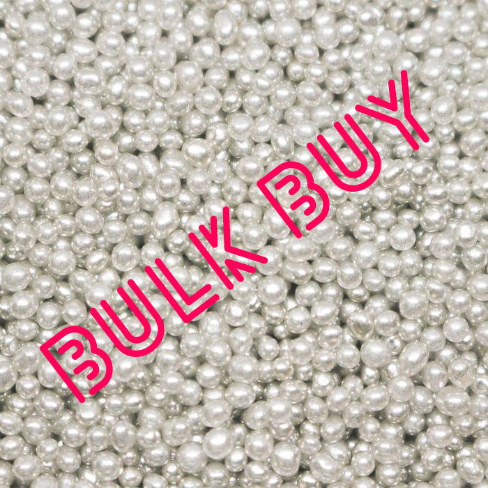 Cachous - Silver 2mm - BULK BUY 1kg