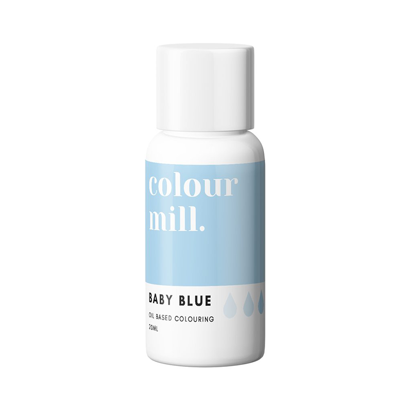 Oil Based Colouring - Baby Blue