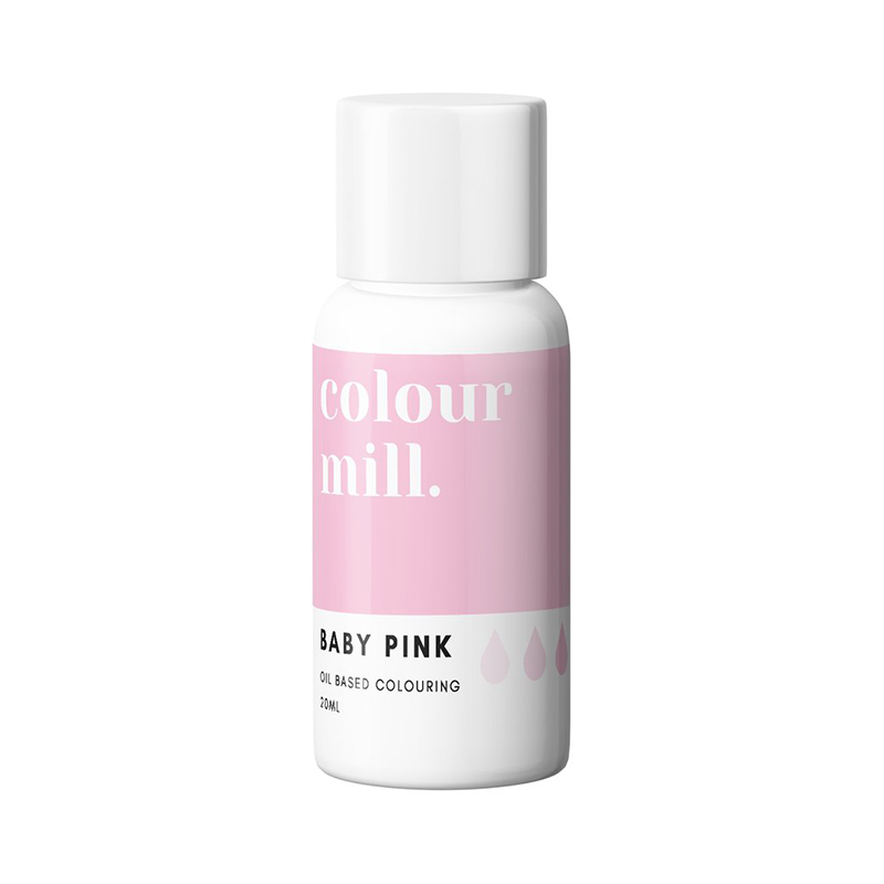 Oil Based Colouring - Baby Pink