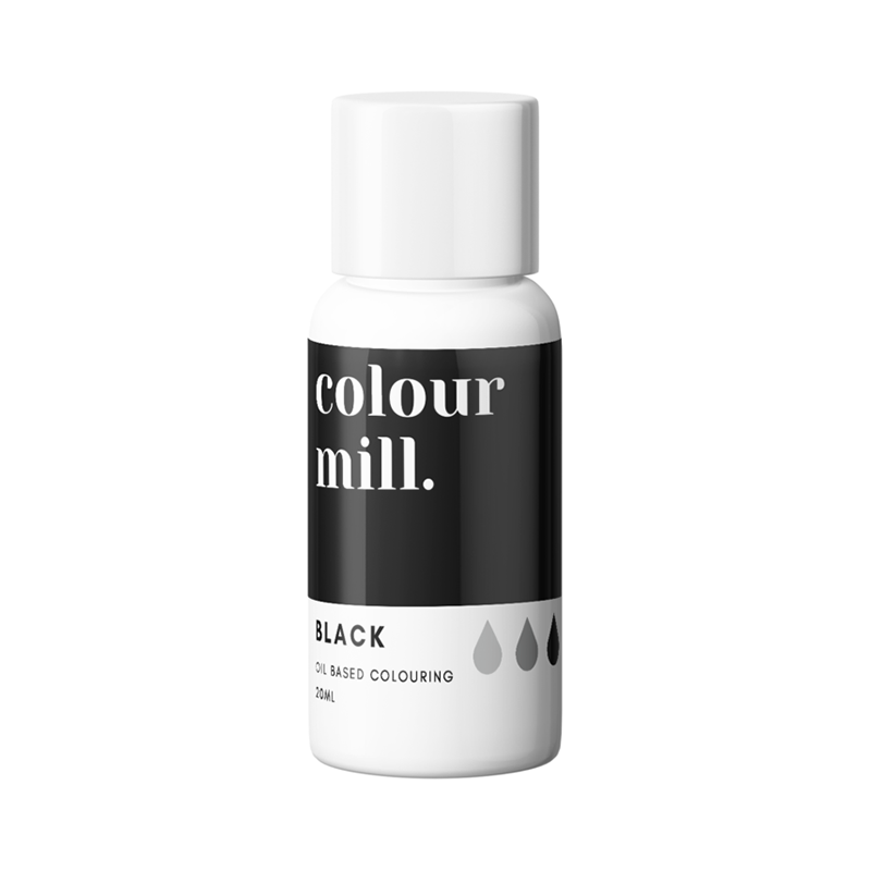 Oil Based Colouring - Black