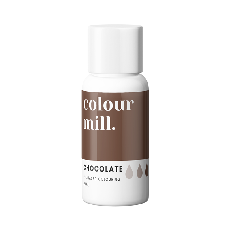 Oil Based Colouring - Chocolate