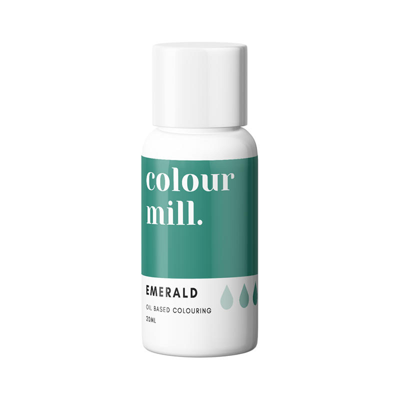 Oil Based Colouring - Emerald