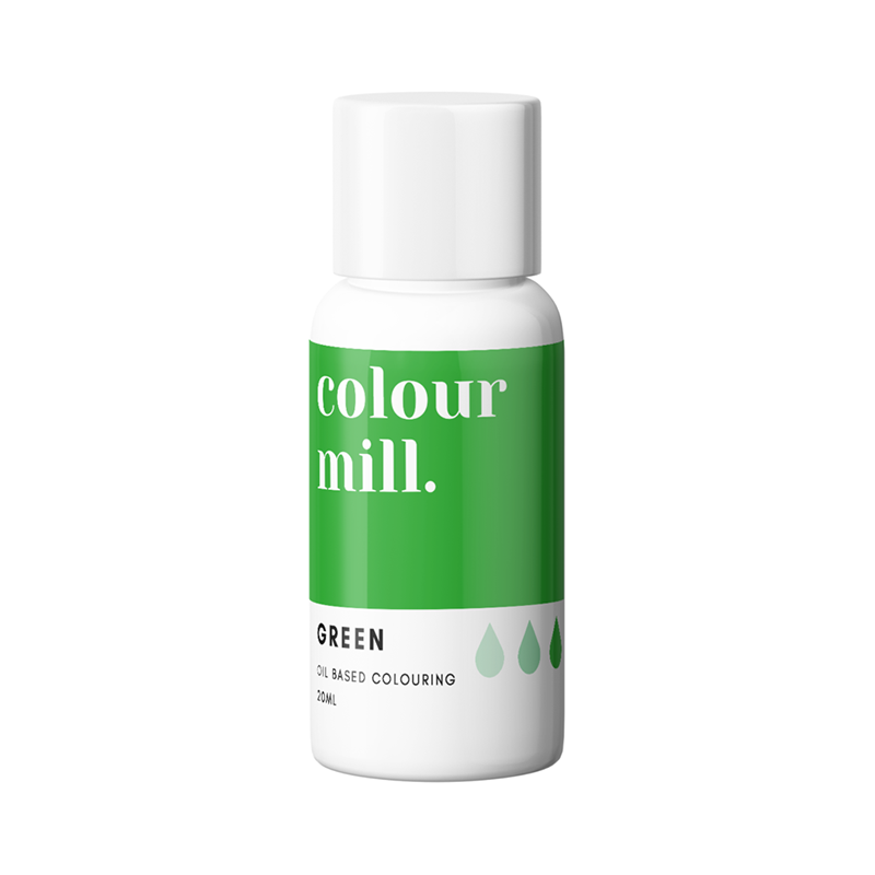 Oil Based Colouring - Green