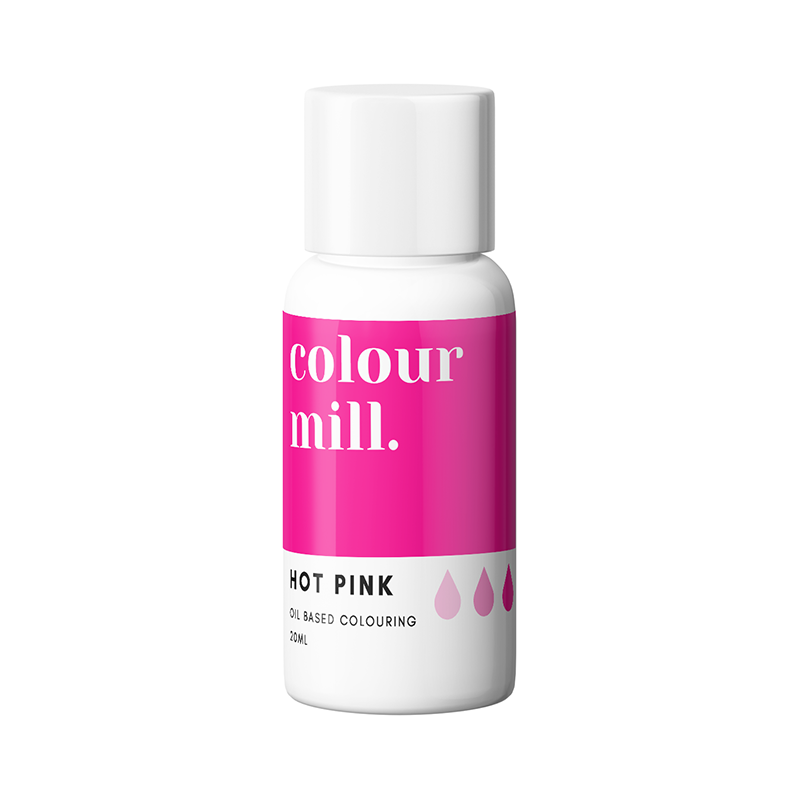 Oil Based Colouring - Hot Pink
