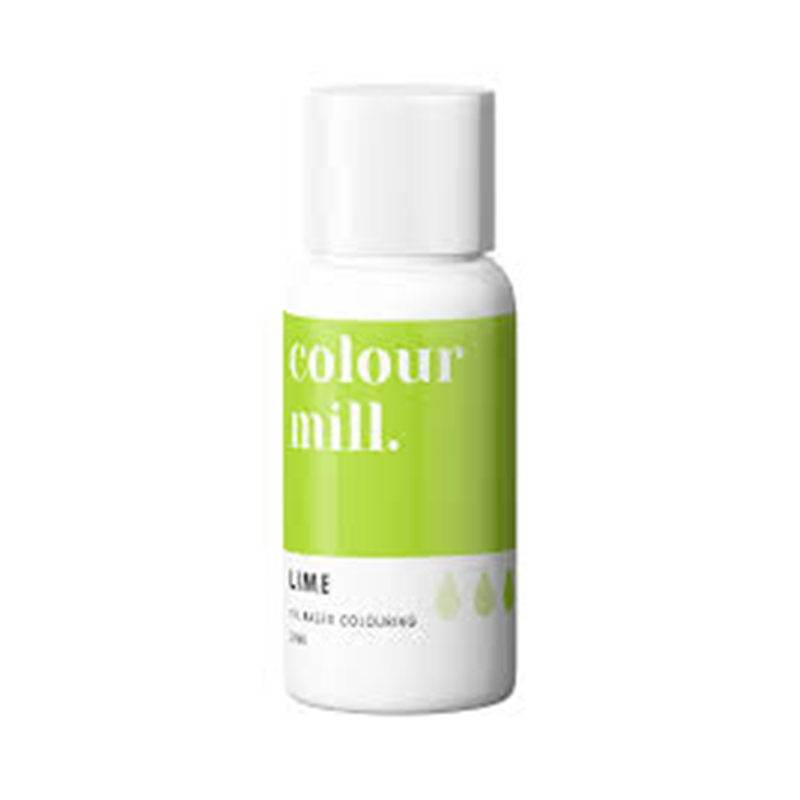 Oil Based Colouring - Lime