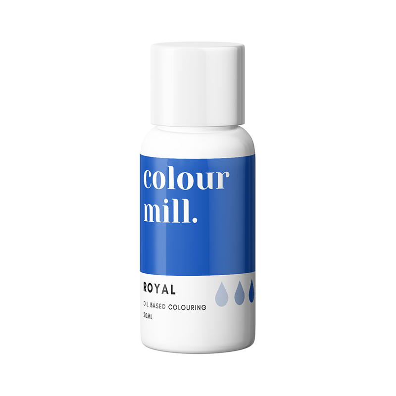 Oil Based Colouring - Royal Blue