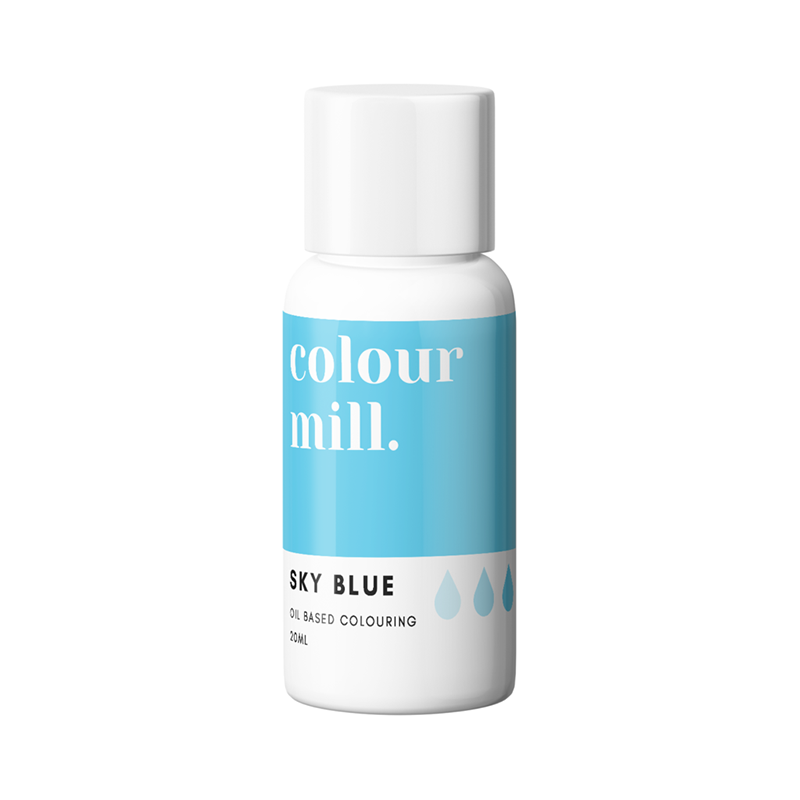 Oil Based Colouring - Sky Blue