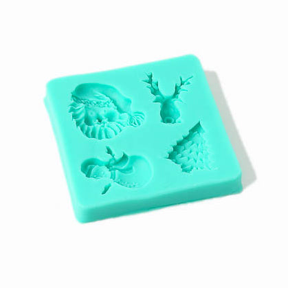 Silicone Mould - Assorted Christmas Shapes