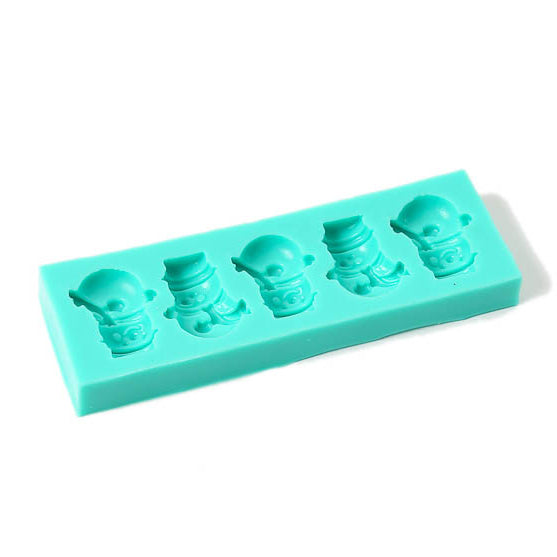 Silicone Mould - Snowmen