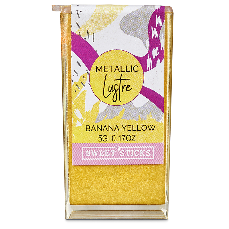 Lustre Banana Yellow