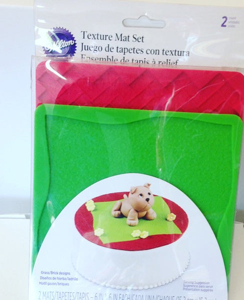Wilton Texture Mat Set 2 pc