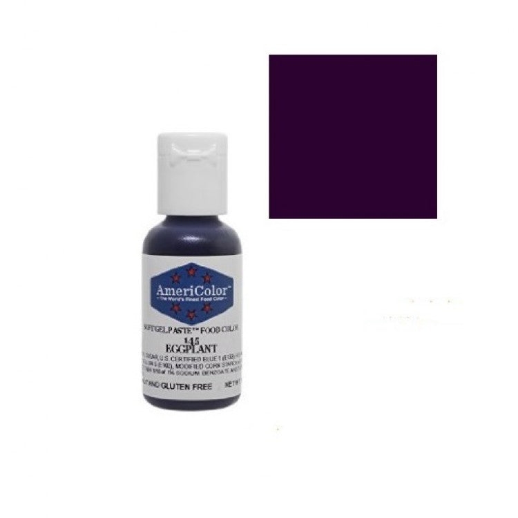 AmeriColor Soft Gel Paste - Eggplant