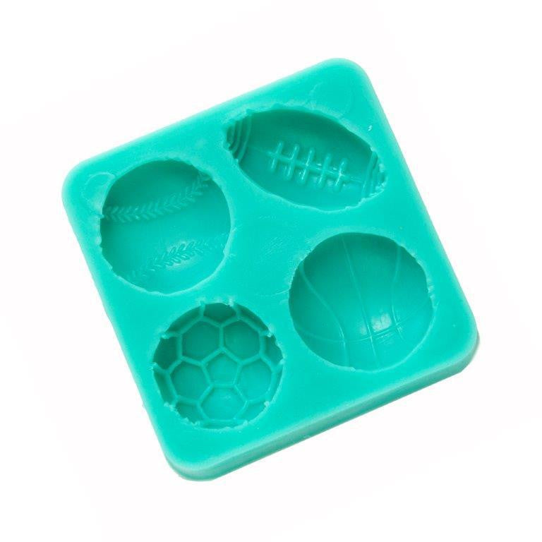 Silicone Mould - Sports Balls