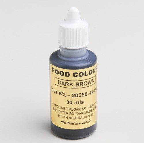 Food Colour - Dark Brown