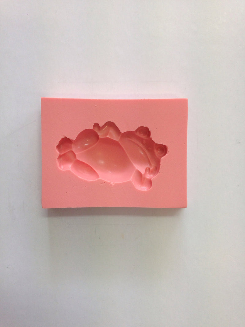 Silicone Mould - Reclining Frog