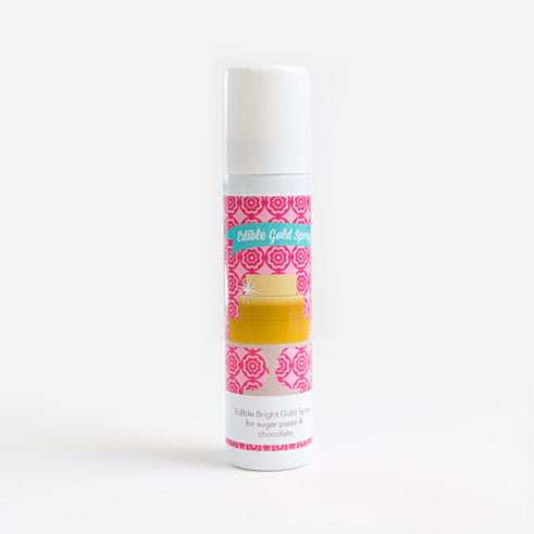 Edible Lustre Spray - Bright Gold