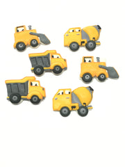 Sugar Toppers - Construction Trucks