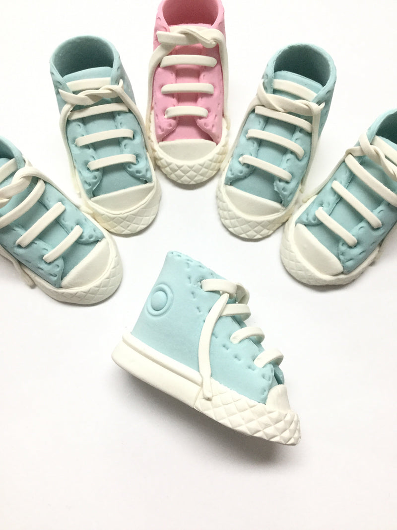 Hand made Baby sneakers - Blue