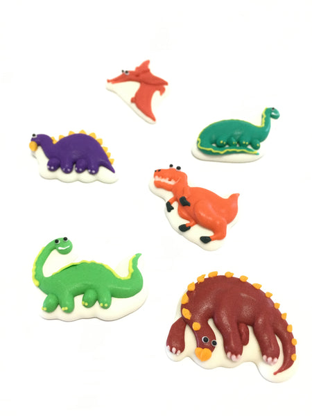Sugar Toppers - Dinosaurs