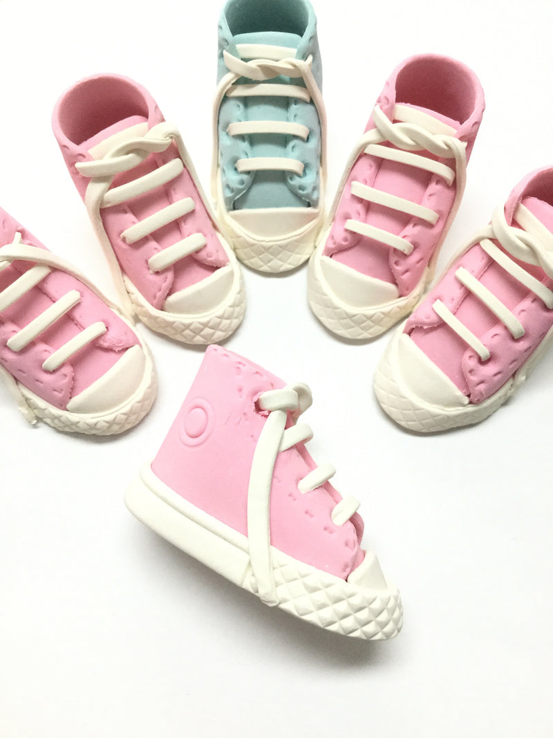 Hand made Baby sneakers - Pink