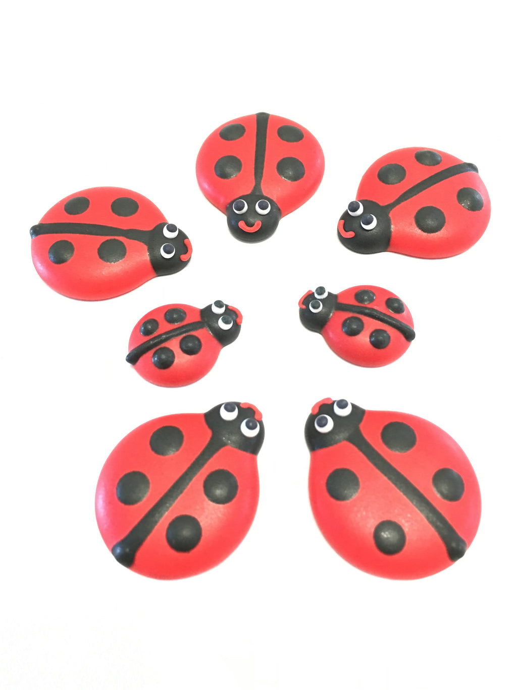 Sugar Toppers - Lady beetles