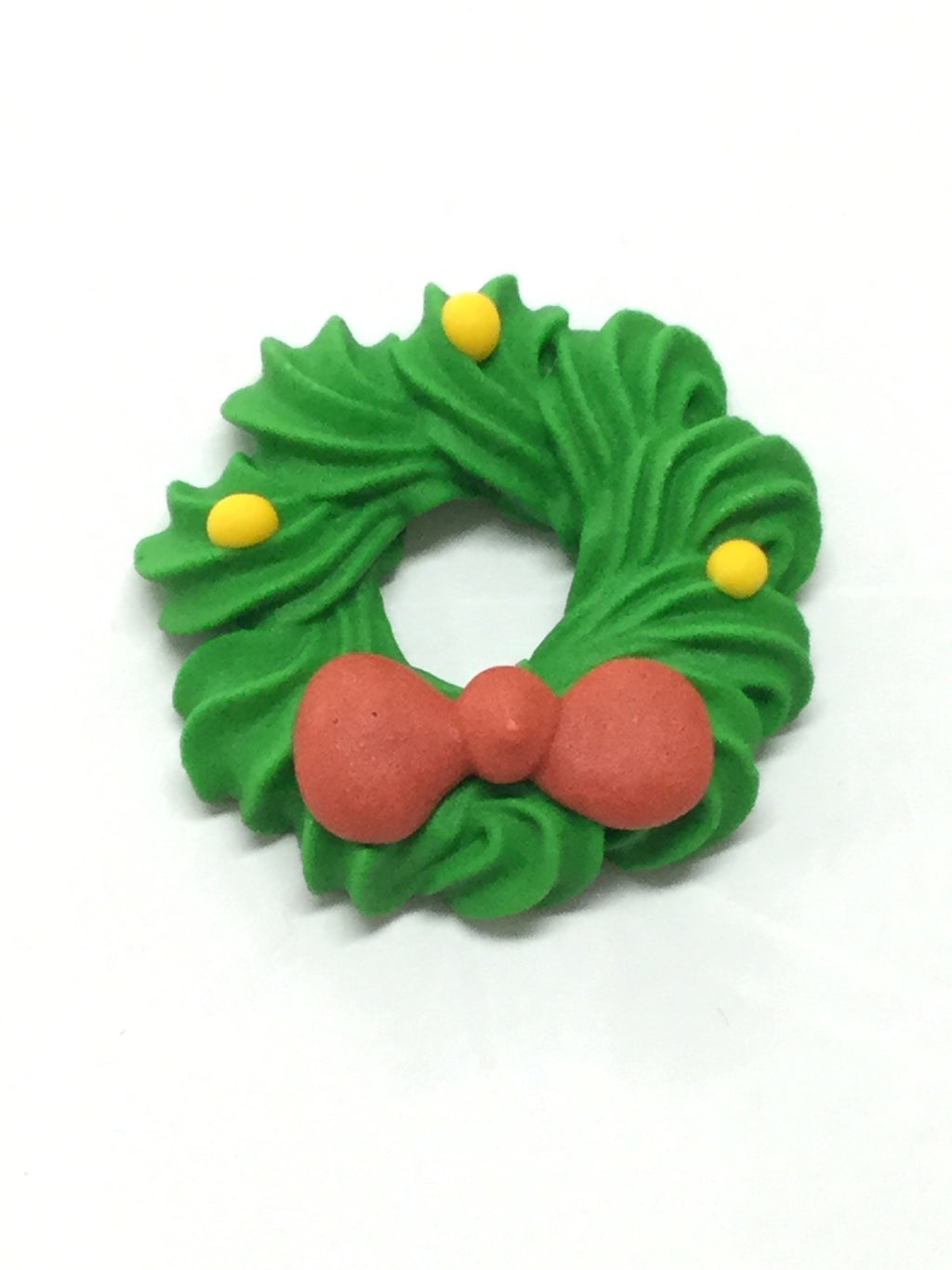 Edible Christmas Toppers - Wreath