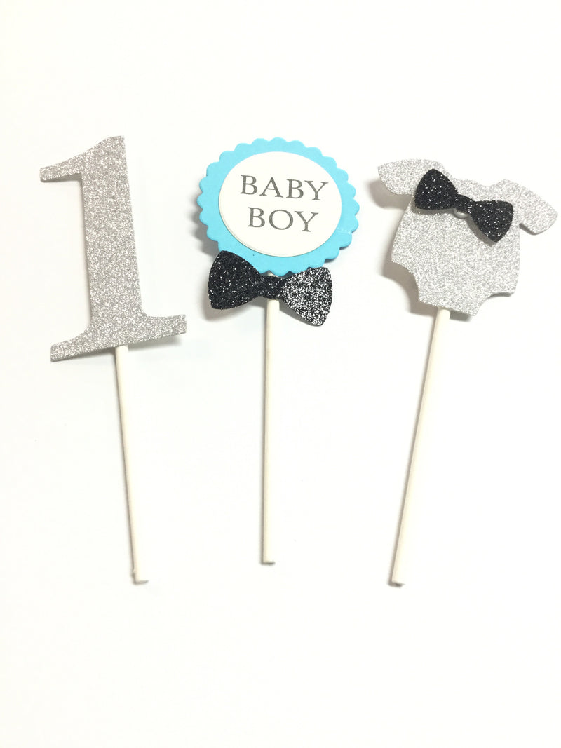 Cupcake Toppers - 1st Birthday