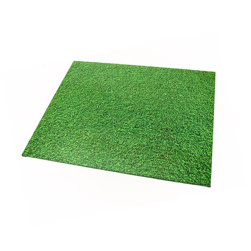 Rectangle Designer Cake Boards - Grass