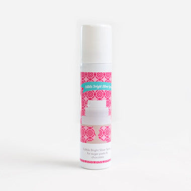 Edible Lustre Spray - Bright Silver