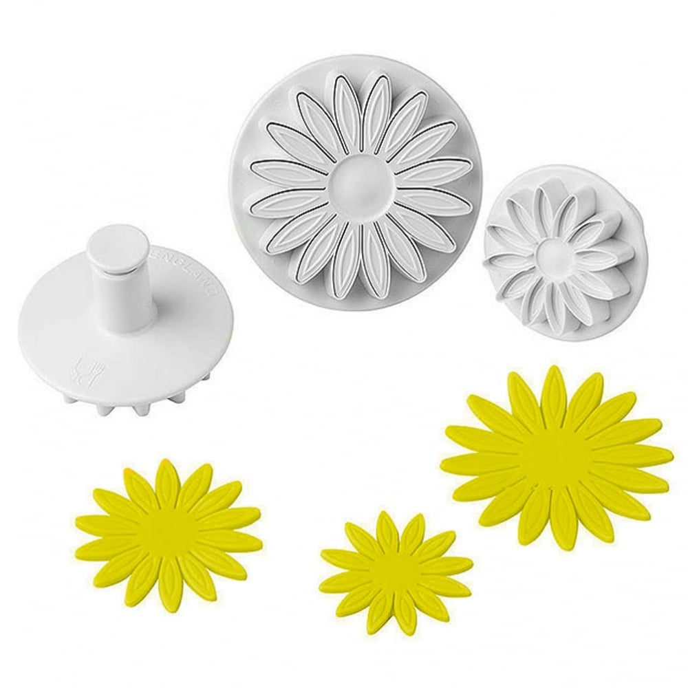 Plunger Cutter Set of 3 - Sunflowers