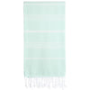 Cacala Aquamarine Turkish Towel Front