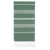 Cacala Armygreen Turkish Towel Front