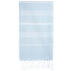 Cacala Babyblue Turkish Towel Front