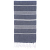 Cacala Darkblue Turkish Towel Front