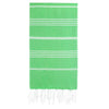 Cacala Green Turkish Towel Front