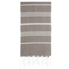 Cacala Lightbrown Turkish Towel Front