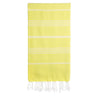 Cacala Lightyellow Turkish Towel Front