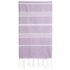 Cacala Lilac Turkish Towel Front