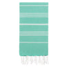 Cacala Mintgreen Turkish Towel Front