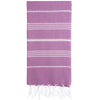 Cacala Purple Turkish Towel Front