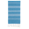Cacala Seablue Turkish Towel Front