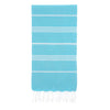 Cacala Turquoise Turkish Towel Front