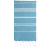 Cacala Turquoiseblue Turkish Towel Front